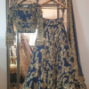 000-5 DKL Signature Blue Sparkle Lengha